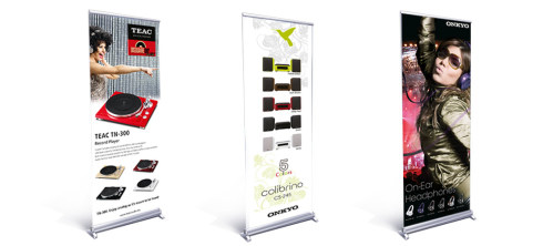 Roll Up-Banner // Grafik-Design // Produktion
